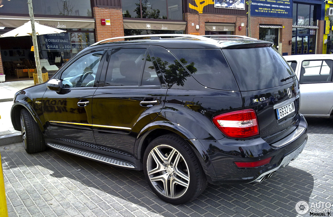 mercedes benz ml 63 amg w164 2009 1 january 2014. Black Bedroom Furniture Sets. Home Design Ideas