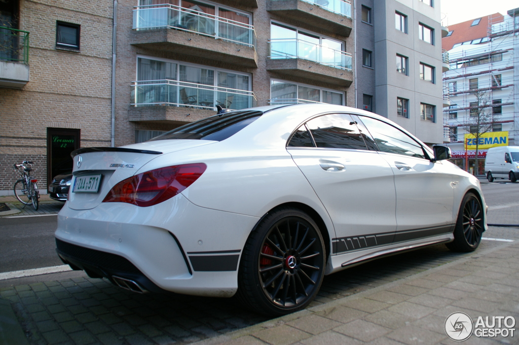 mercedes-benz cla 45 amg edition 1 c117 - 2 january 2014 - autogespot