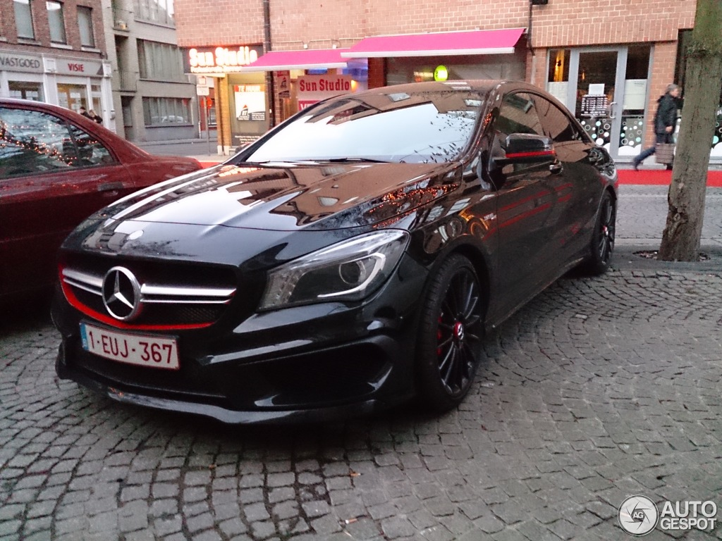 mercedes benz cla 45 amg edition 1 c117 2 janvier 2014 autogespot. Black Bedroom Furniture Sets. Home Design Ideas