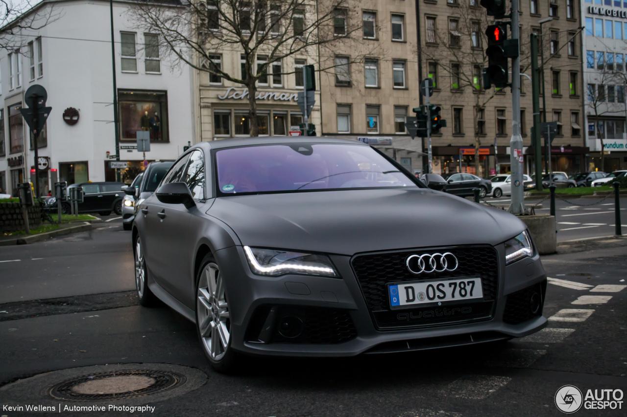 Audi Rs7 Sportback 4 Januar 2014 Autogespot