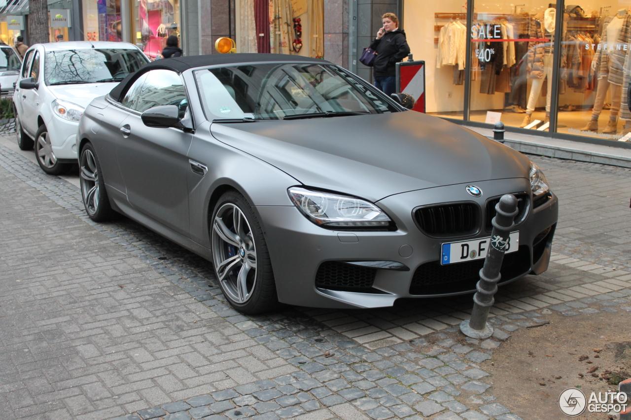 Bmw M6 F12 Cabriolet 6 Januar 2014 Autogespot