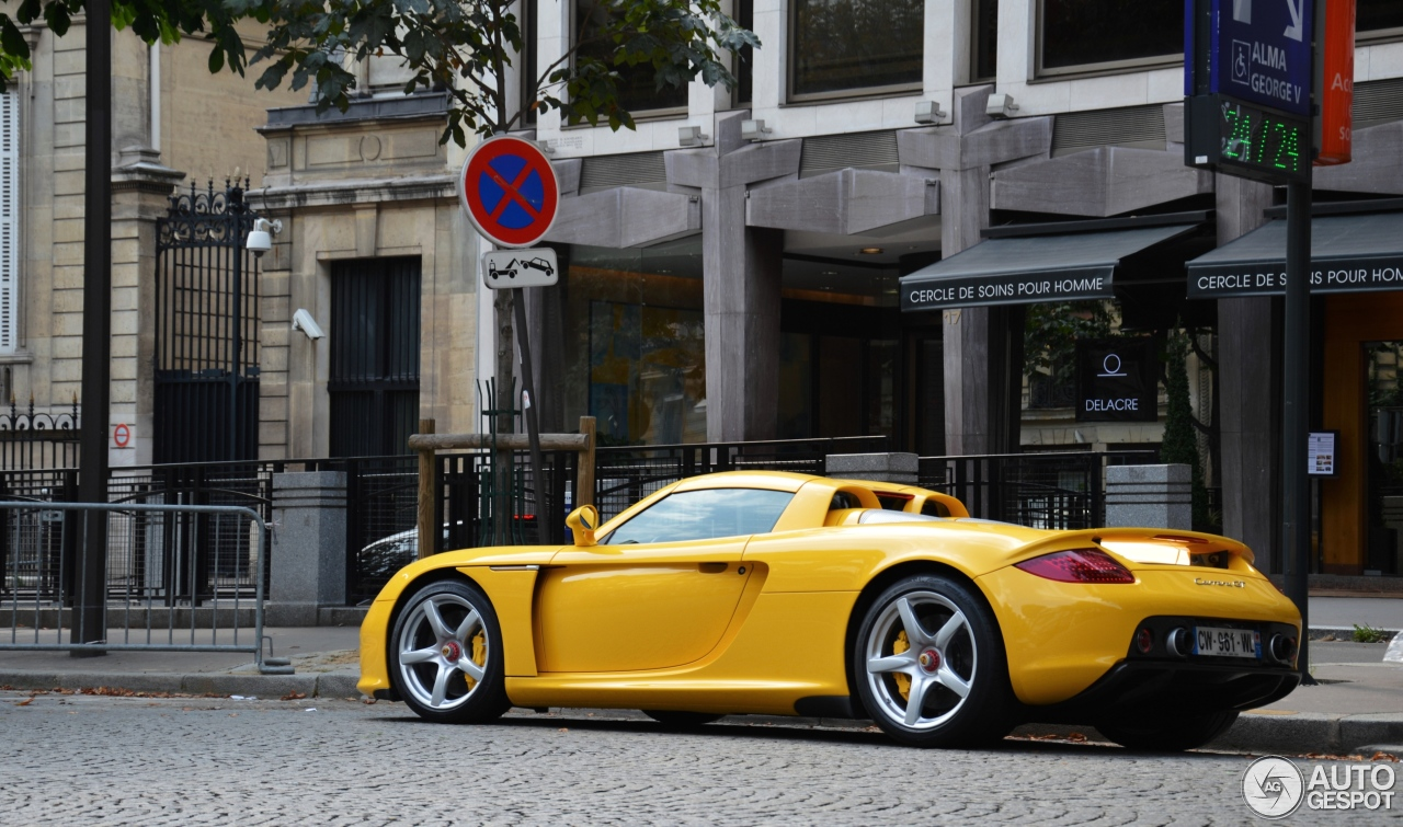 porsche carrera gt 6 janvier 2014 autogespot. Black Bedroom Furniture Sets. Home Design Ideas