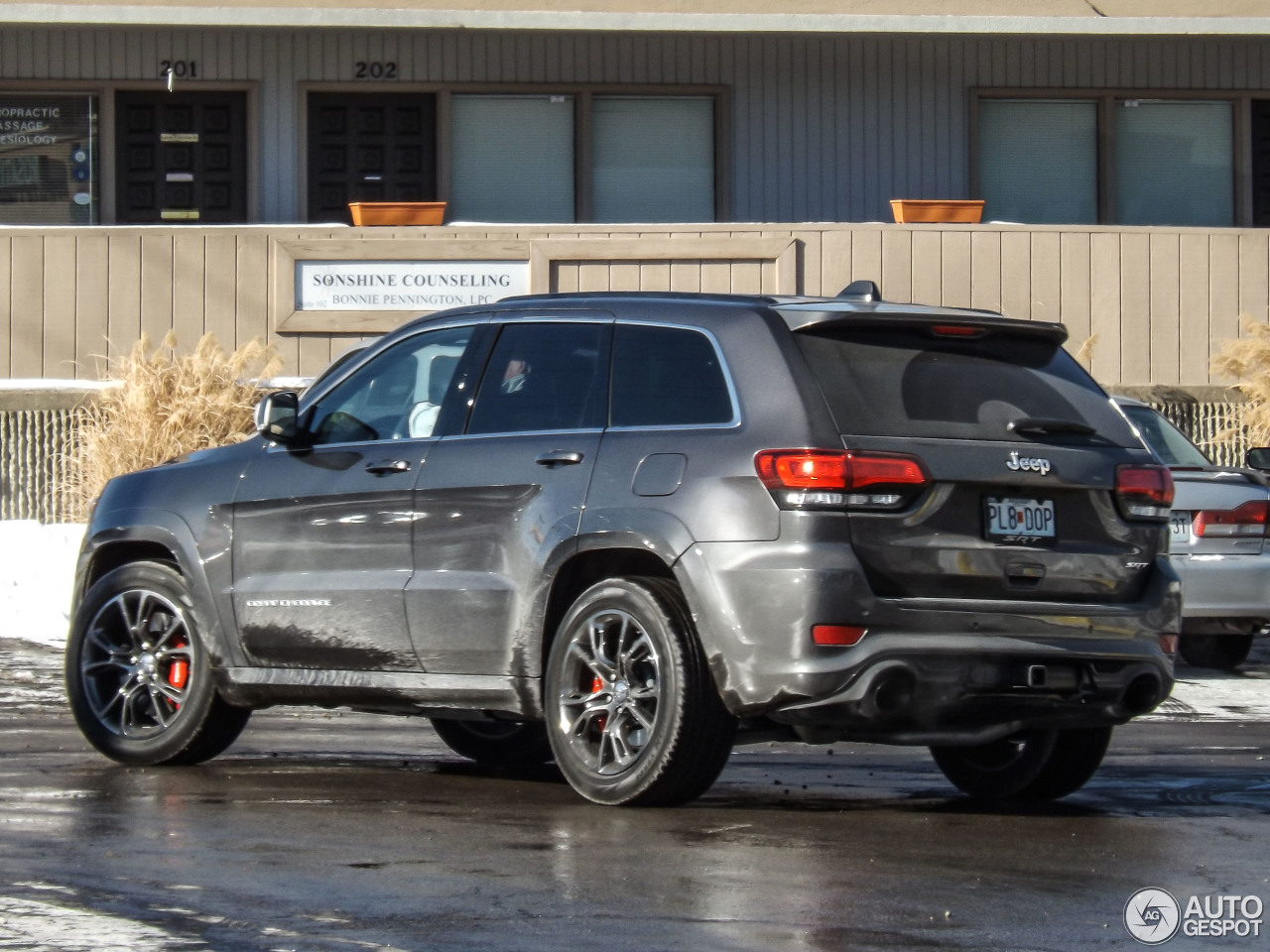 Jeep Cherokee Matte Grey >> Jeep Grand Cherokee SRT-8 2013 - 8 January 2014 - Autogespot