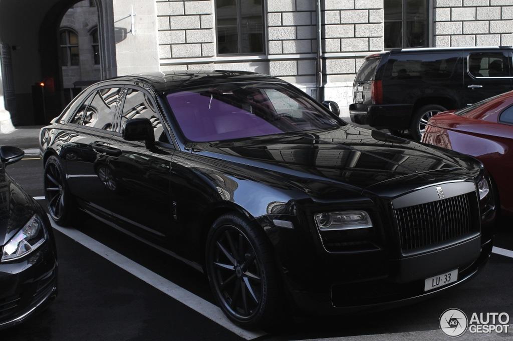 Rolls Royce Ghost 8 Janvier 2014 Autogespot