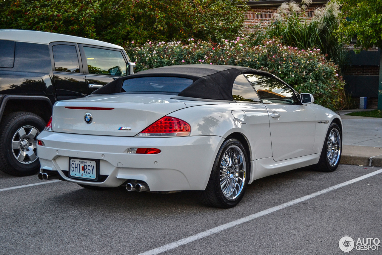Bmw M6 E64 Cabriolet 9 January 2014 Autogespot