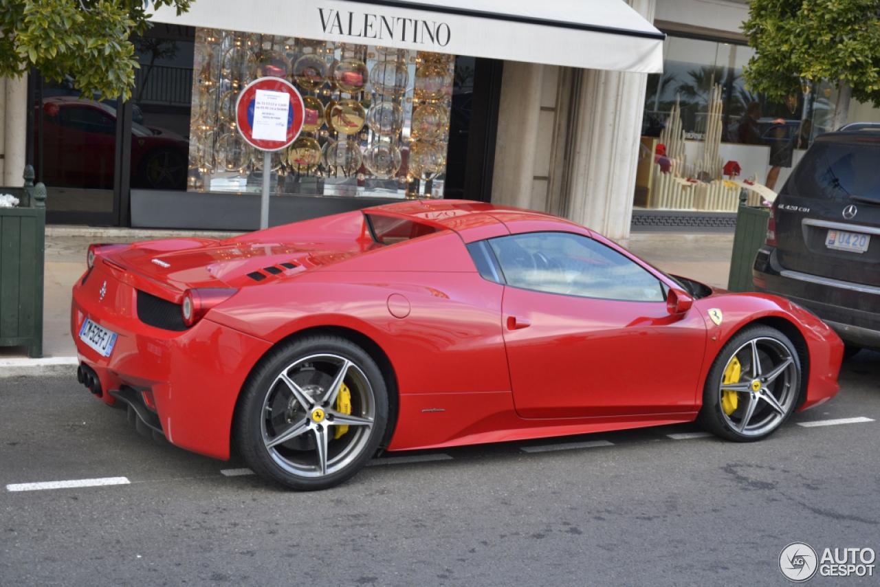 Ferrari 458 Spider 10 januari 2014 Autogespot