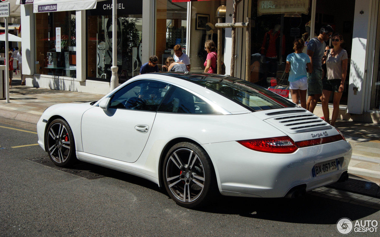 porsche 997 targa 4s mkii 10 january 2014 autogespot. Black Bedroom Furniture Sets. Home Design Ideas