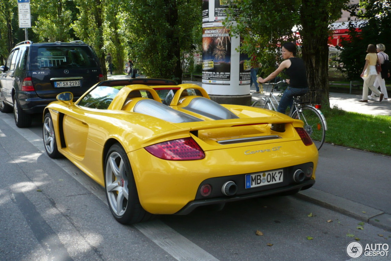 porsche carrera gt 10 january 2014 autogespot. Black Bedroom Furniture Sets. Home Design Ideas