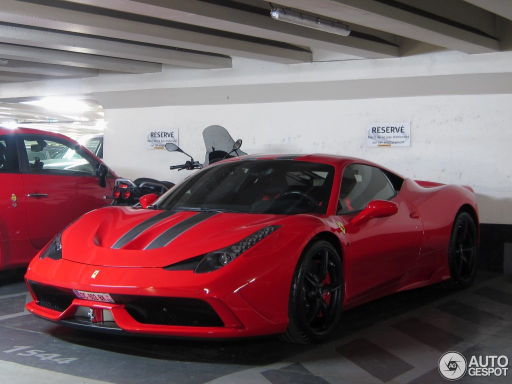 ferrari 458 speciale 11 january 2014 autogespot. Black Bedroom Furniture Sets. Home Design Ideas