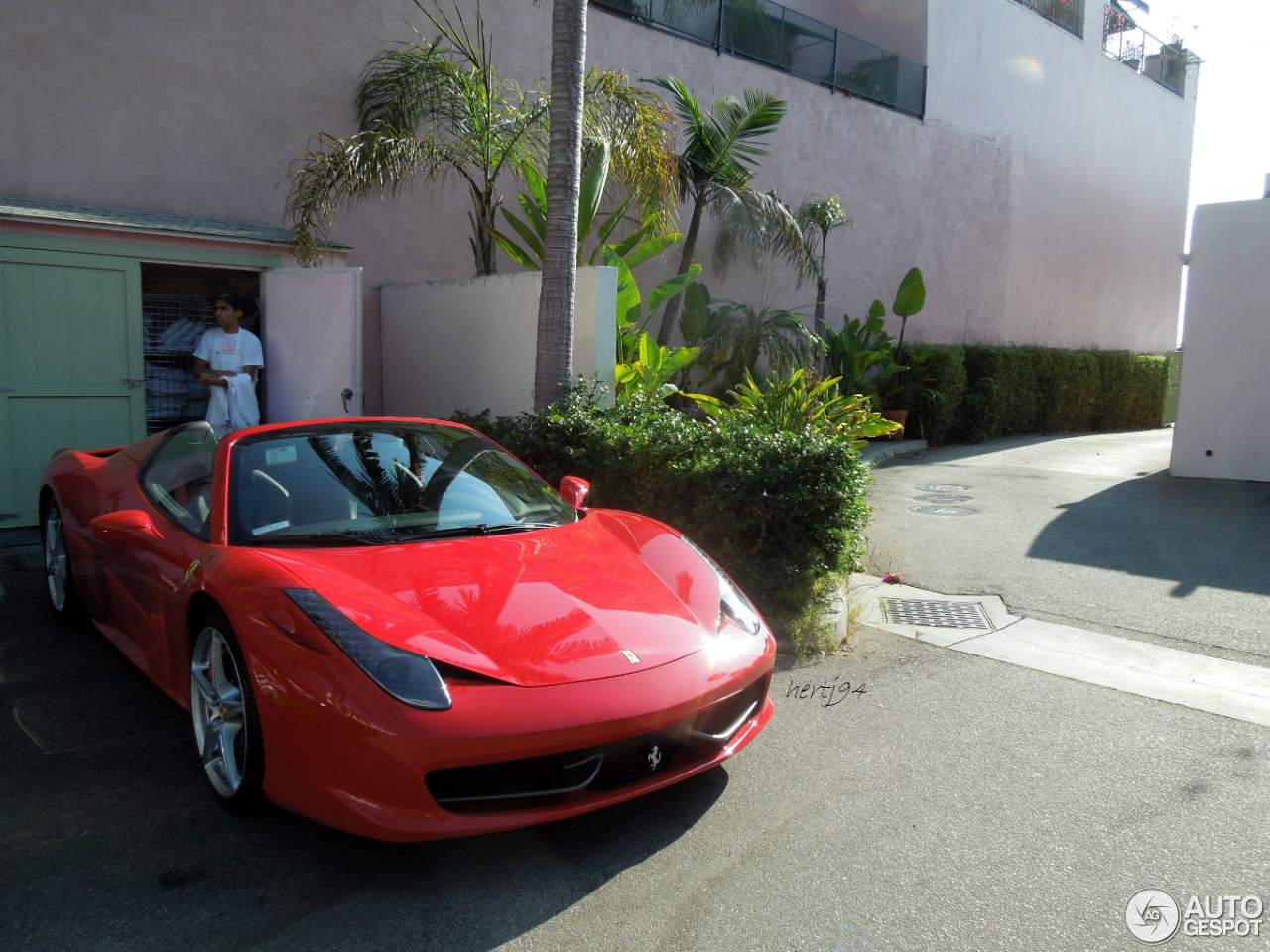 Ferrari 458 Spider 11 January 2014 Autogespot
