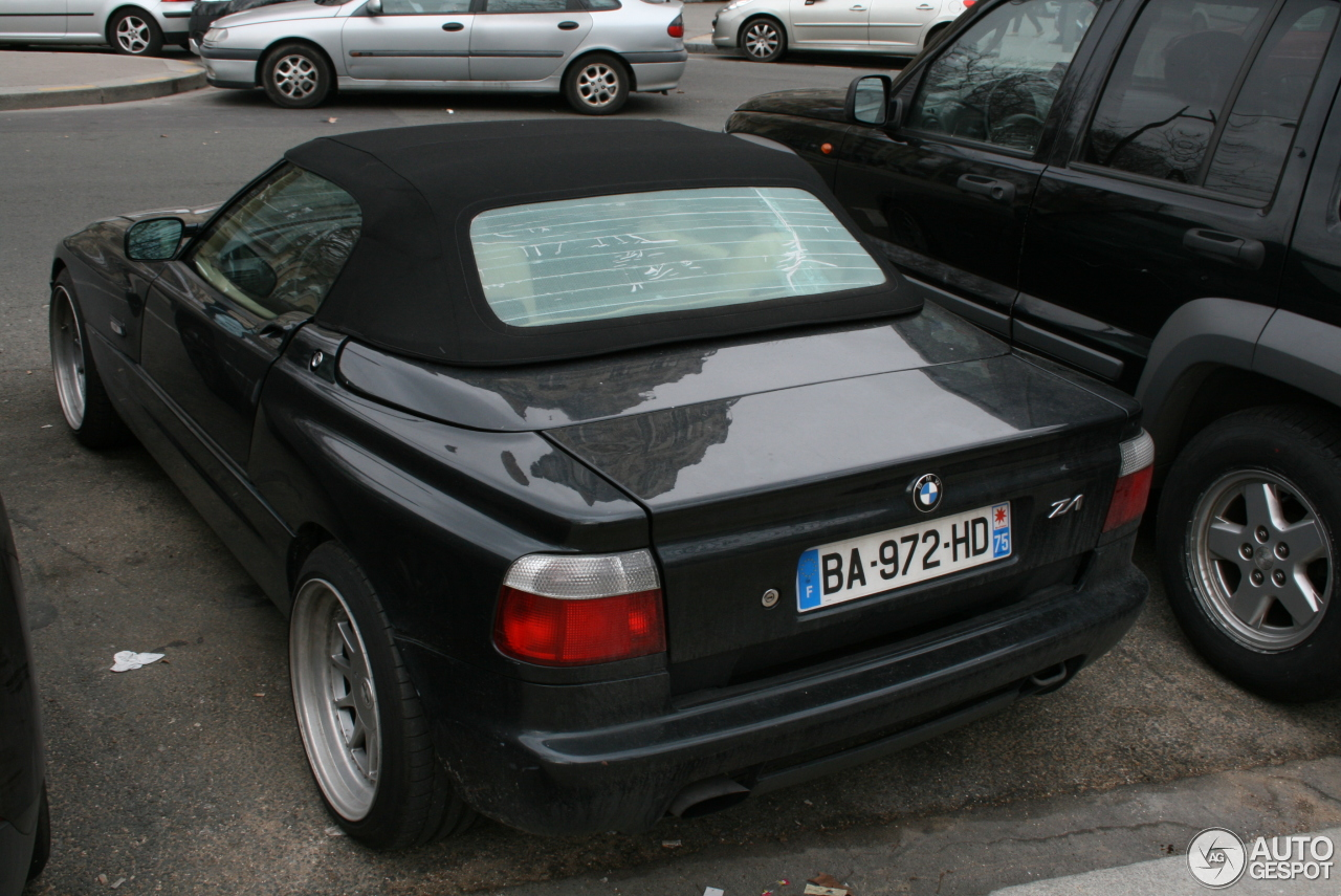 bmw z1 12 janvier 2014 autogespot. Black Bedroom Furniture Sets. Home Design Ideas