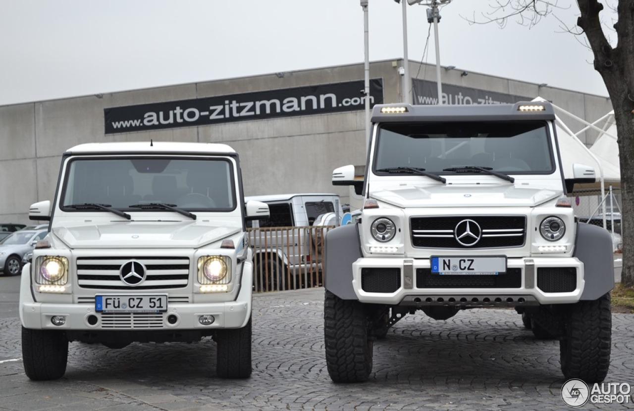 63 Power Wagon >> Mercedes-Benz G 63 AMG 6x6 - 13 January 2014 - Autogespot