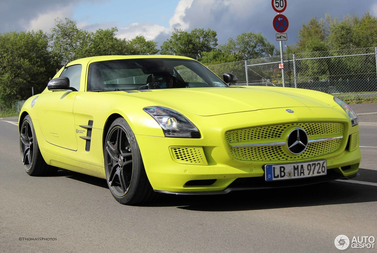 Mercedes benz sls amg electric drive 13 january 2014 for Mercedes benz sls amg electric drive price