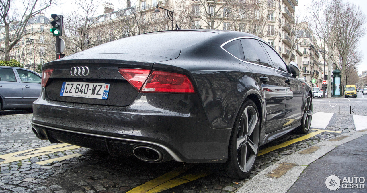 audi rs7 sportback 14 janvier 2014 autogespot. Black Bedroom Furniture Sets. Home Design Ideas
