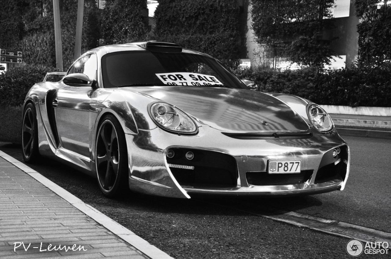 Porsche Cayman Techart Gt Widebody 15 January 2014