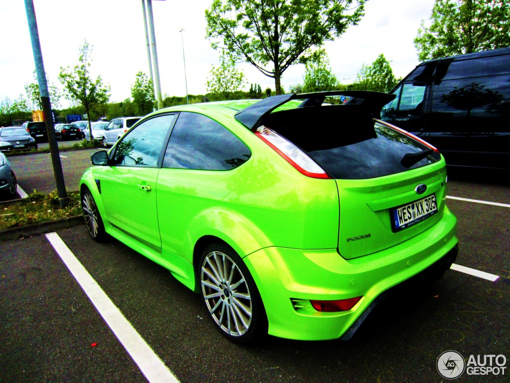 ford focus rs 2009 17 januar 2014 autogespot. Black Bedroom Furniture Sets. Home Design Ideas