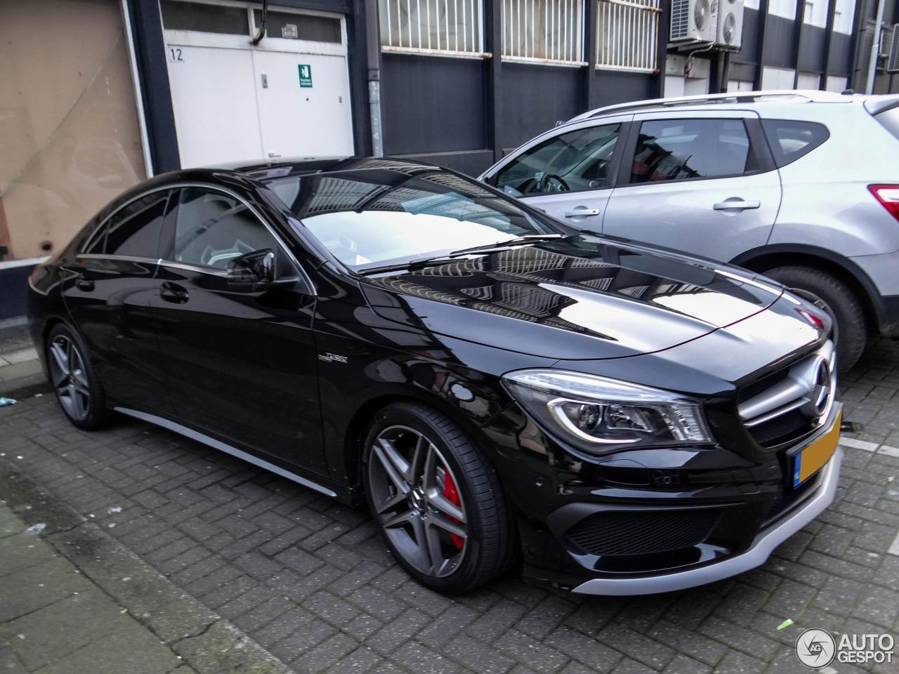 mercedes benz cla 45 amg c117 18 january 2014 autogespot. Black Bedroom Furniture Sets. Home Design Ideas
