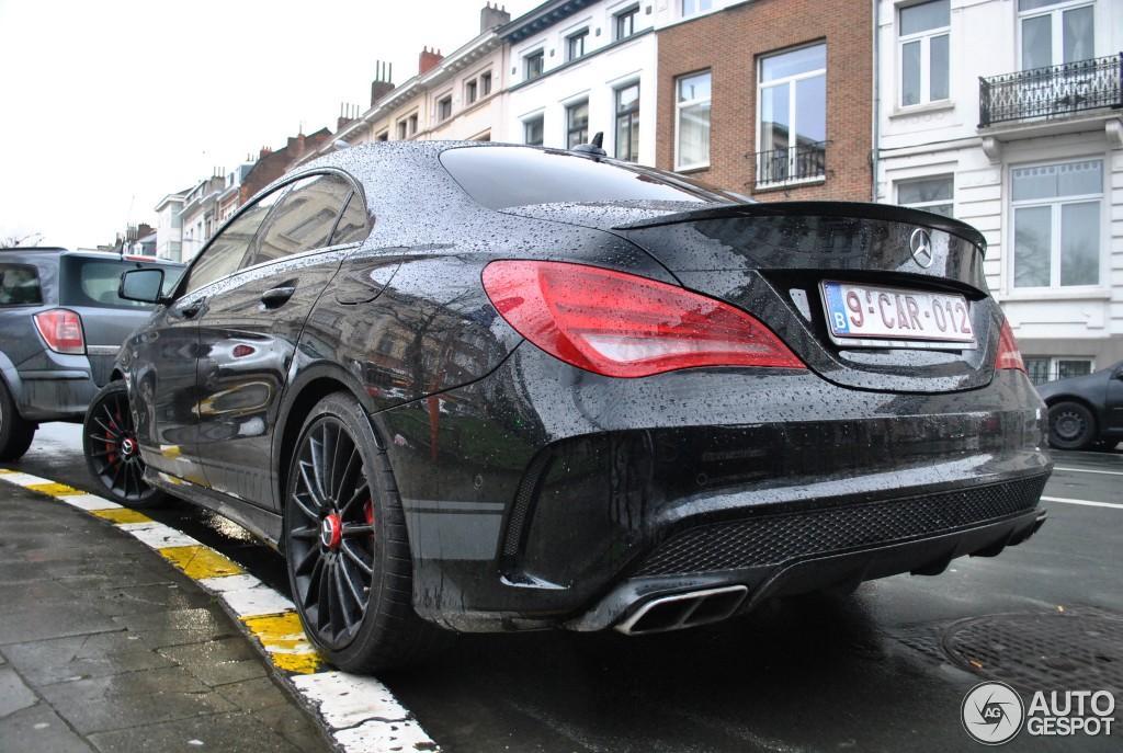 Mercedes-Benz CLA 45 AMG Edition 1 C117 - 20 January 2014 - Autogespot