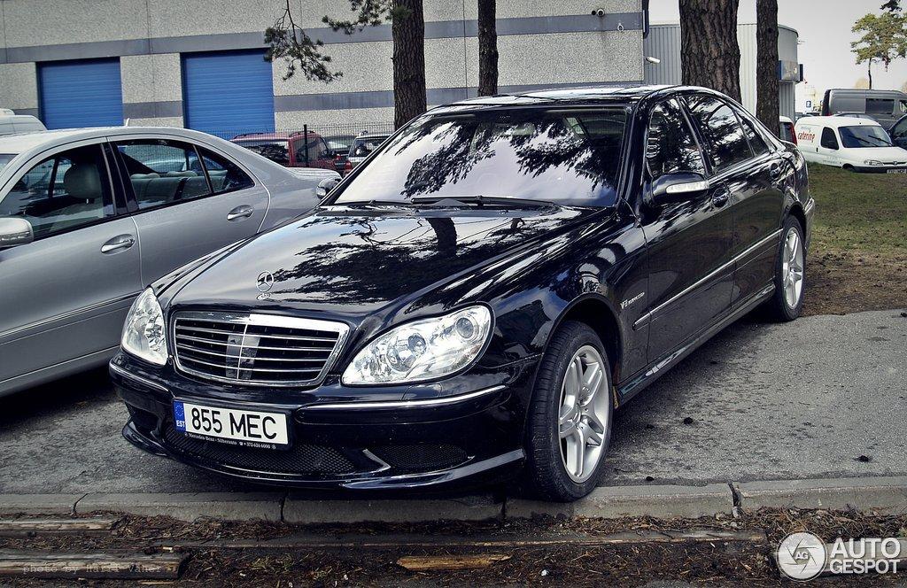 Mercedes-Benz S 55 AMG W220 Kompressor - 20 januari 2014 - Autogespot