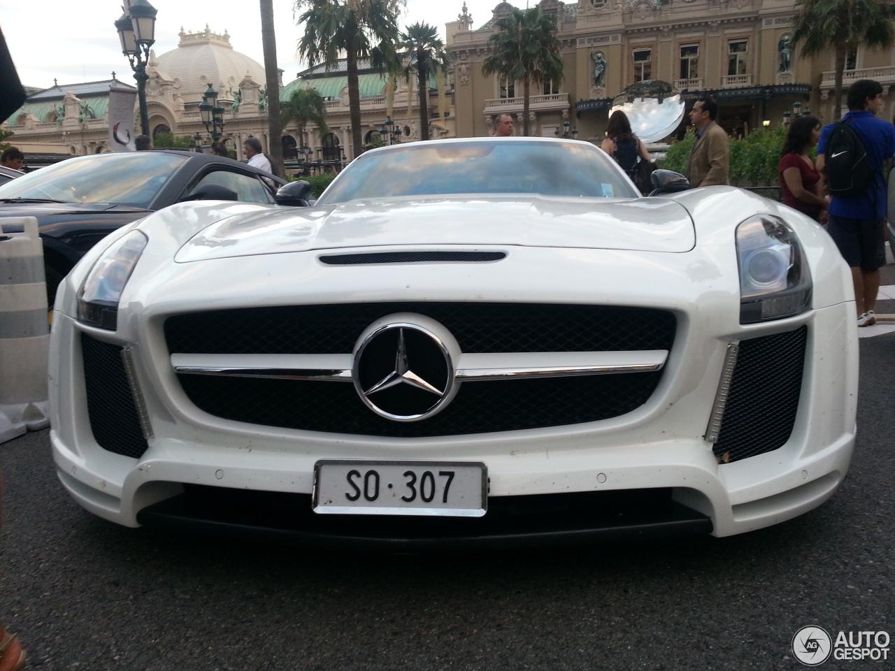 Mercedes benz fab design sls amg jetstream roadster 21 for 2014 mercedes benz sls amg price