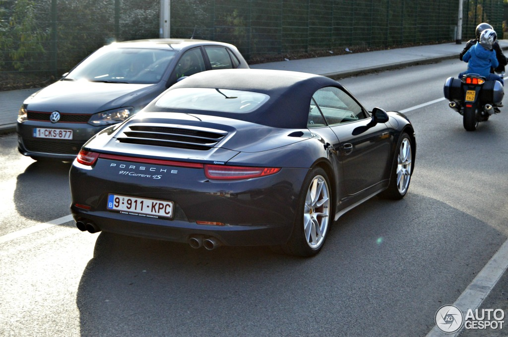 porsche 991 carrera 4s cabriolet 22 january 2014. Black Bedroom Furniture Sets. Home Design Ideas
