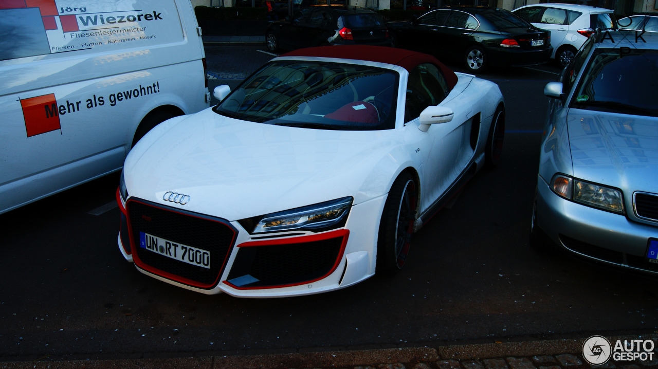 audi r8 v10 spyder 2013 regula tuning 24 january 2014 autogespot. Black Bedroom Furniture Sets. Home Design Ideas
