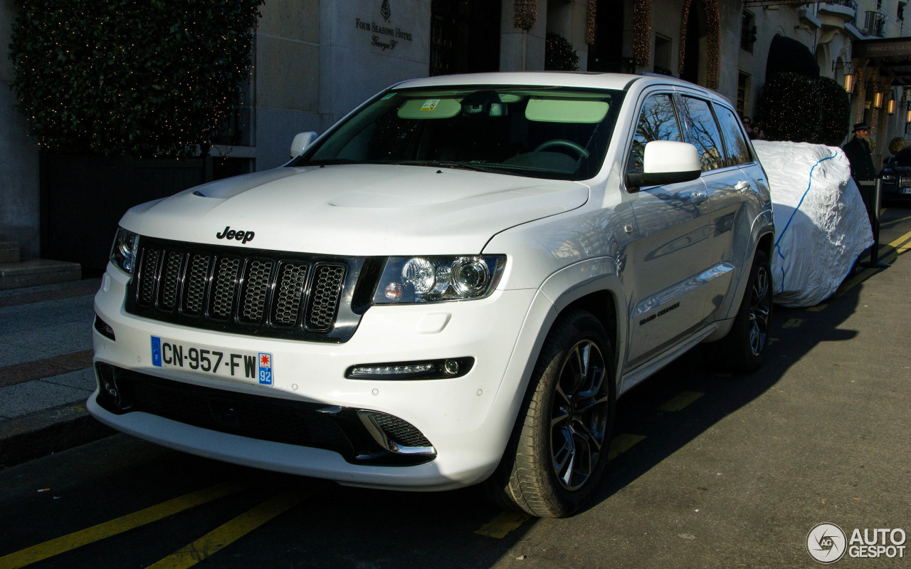 jeep grand cherokee srt 8 limited edition 24 janvier 2014 autogespot. Black Bedroom Furniture Sets. Home Design Ideas