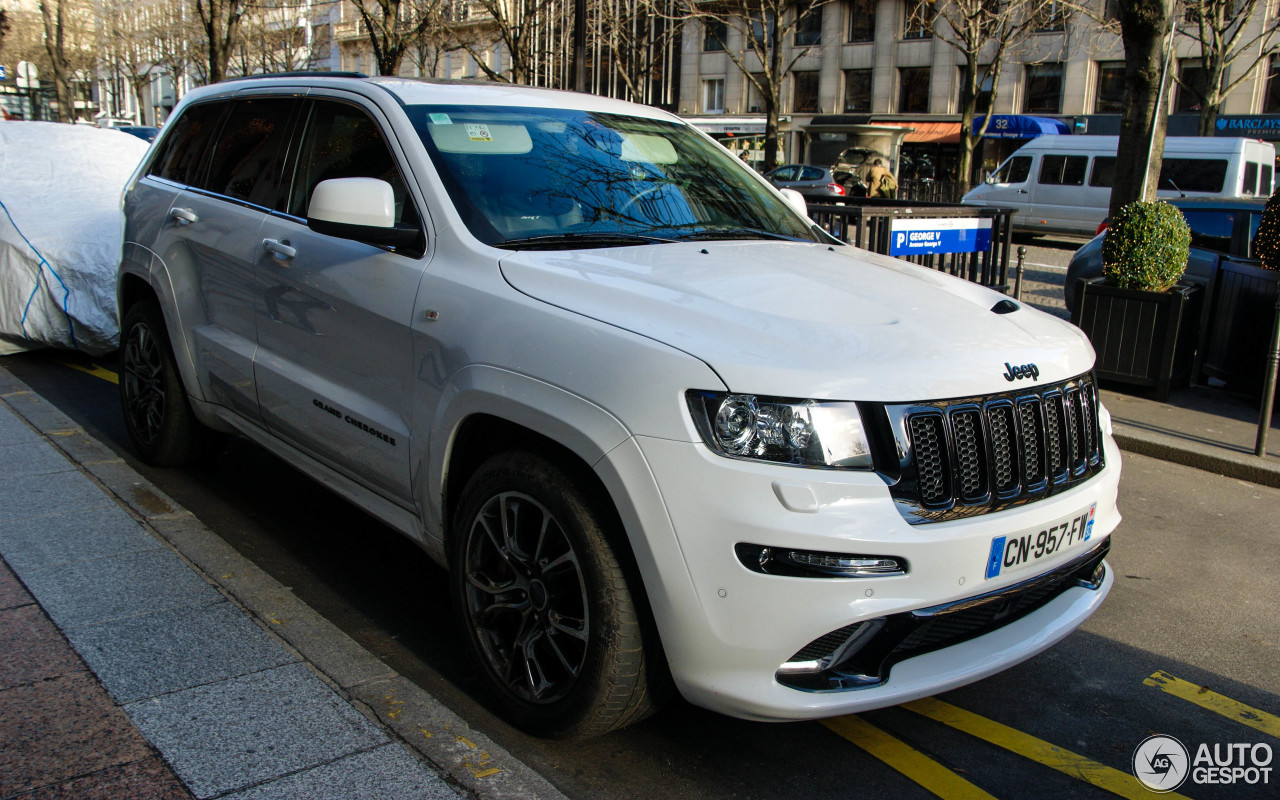 jeep grand cherokee srt 8 limited edition 24 january 2014 autogespot. Black Bedroom Furniture Sets. Home Design Ideas