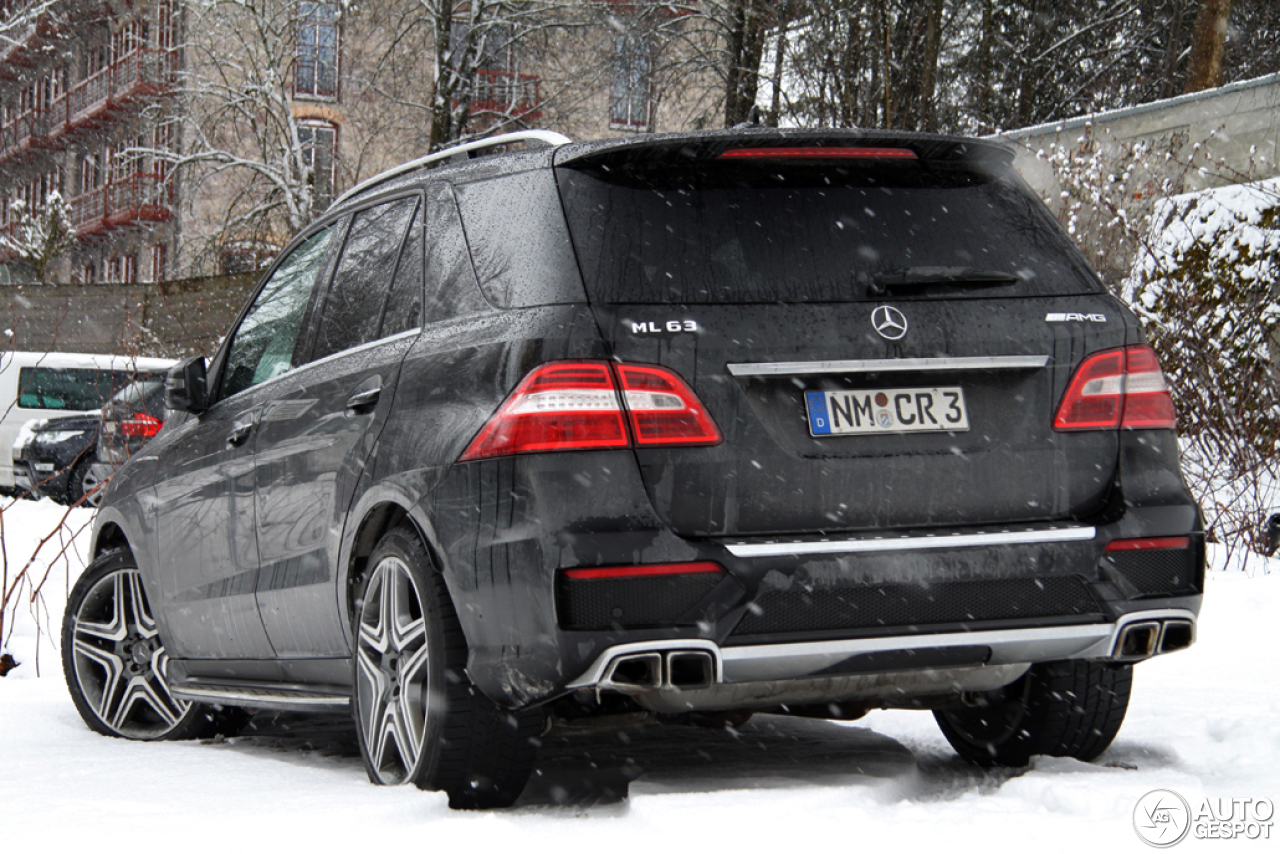 mercedes benz ml 63 amg w166 24 january 2014 autogespot. Black Bedroom Furniture Sets. Home Design Ideas