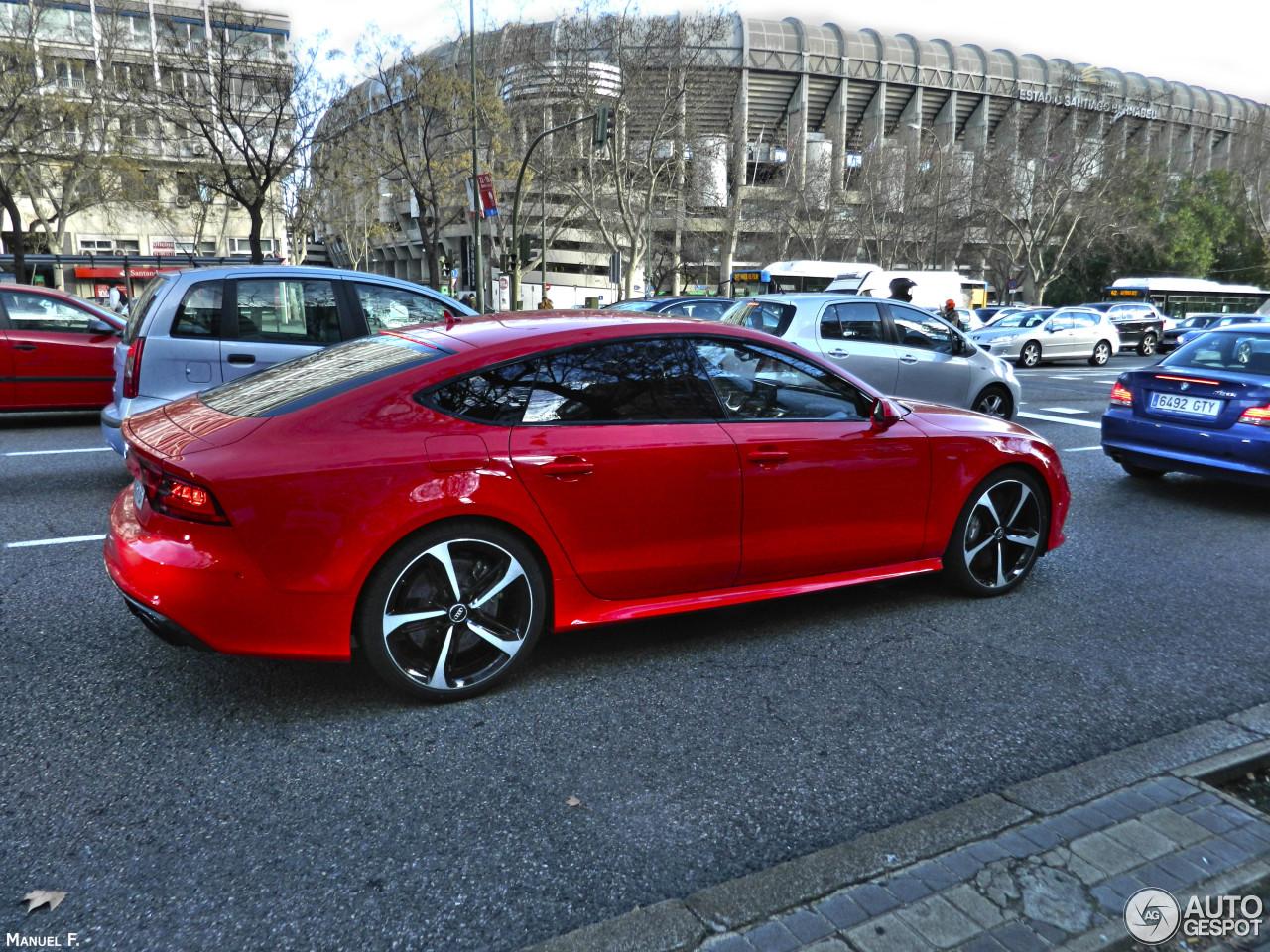 Audi Rs7 Sportback 25 January 2014 Autogespot