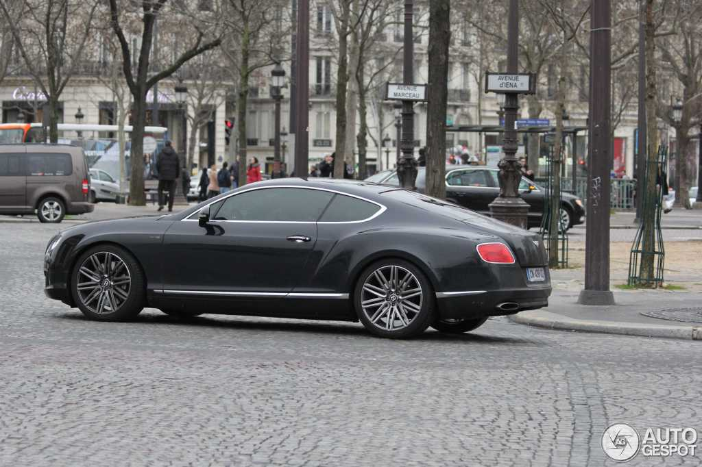 bentley continental gt speed 2012 25 january 2014 autogespot. Cars Review. Best American Auto & Cars Review