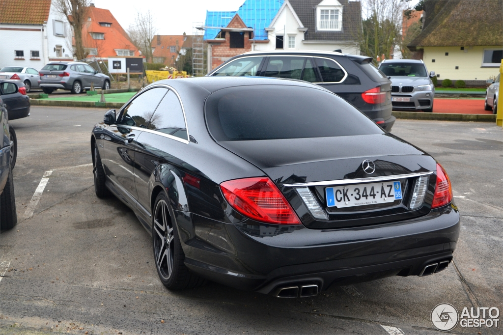 Mercedes benz cl 63 amg c216 2011 26 january 2014 for Mercedes benz cl 63 amg price