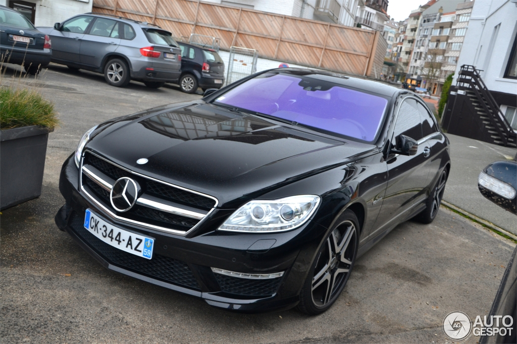 mercedes benz cl 63 amg c216 2011 26 january 2014. Black Bedroom Furniture Sets. Home Design Ideas
