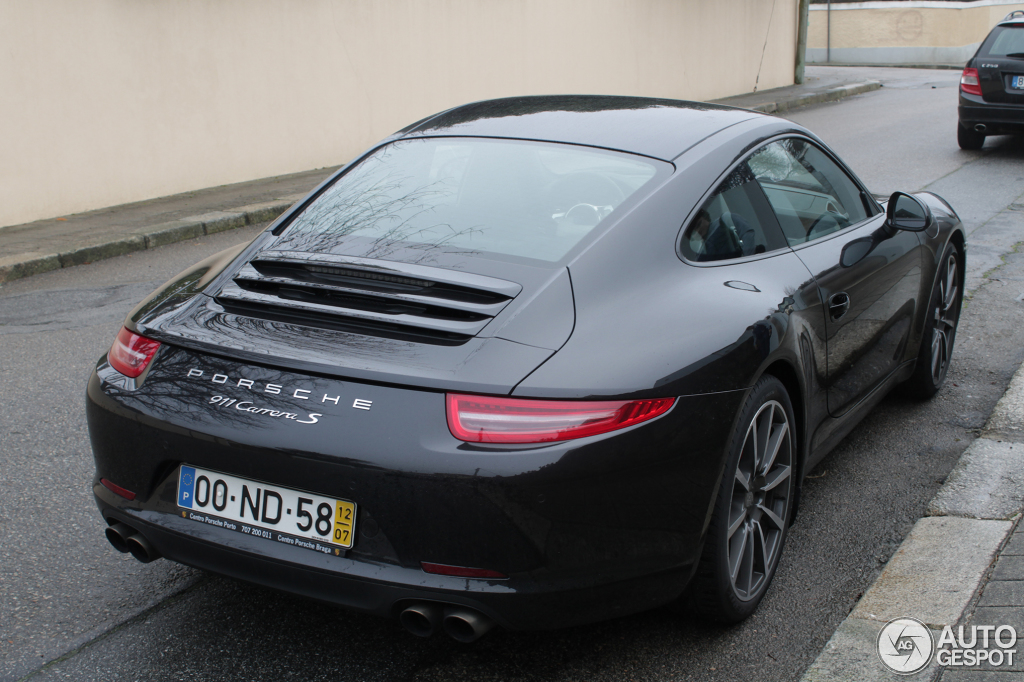 Porsche 991 Carrera S  26 January 2014  Autogespot