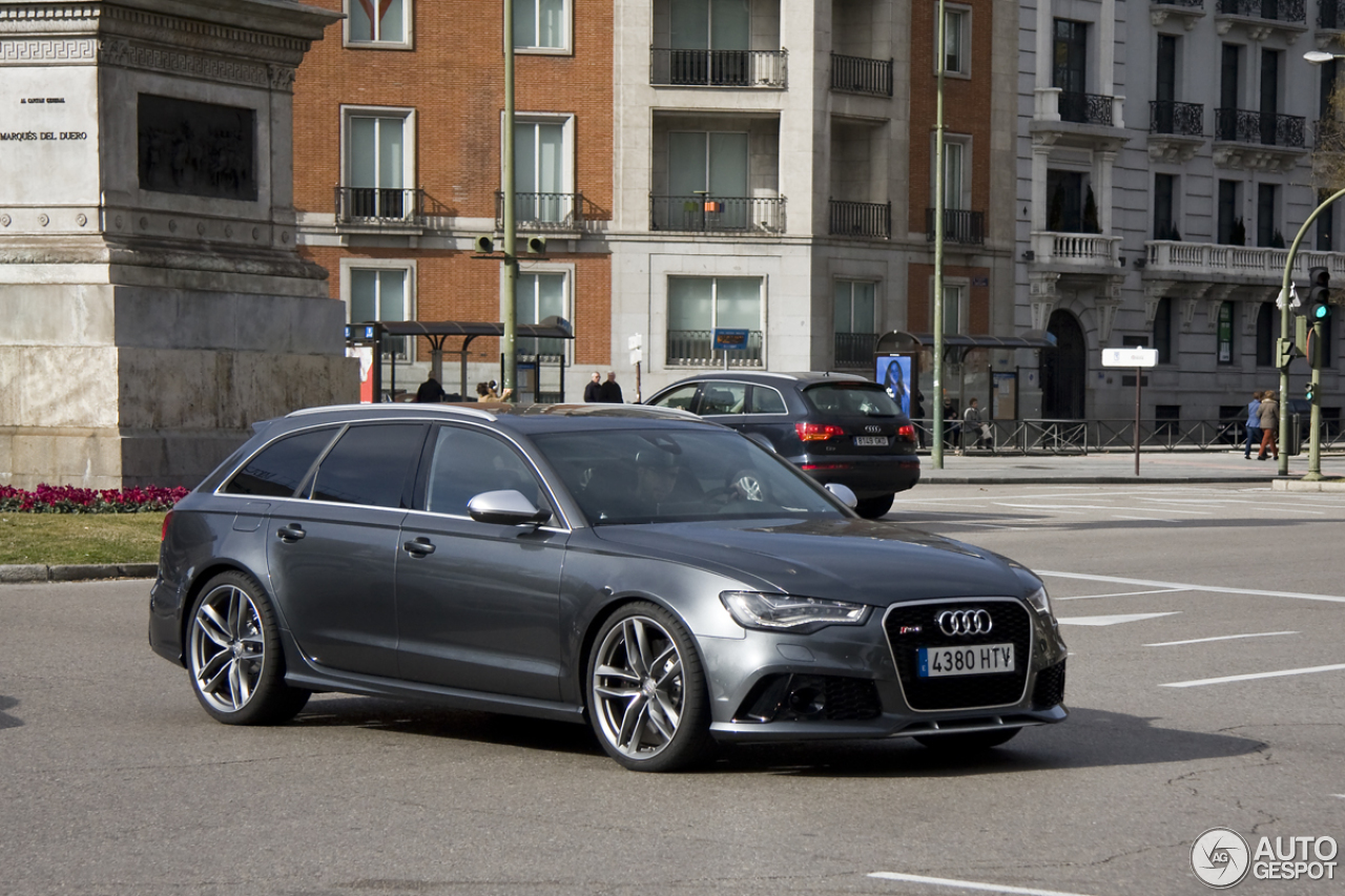 audi rs6 avant c7 28 janvier 2014 autogespot. Black Bedroom Furniture Sets. Home Design Ideas