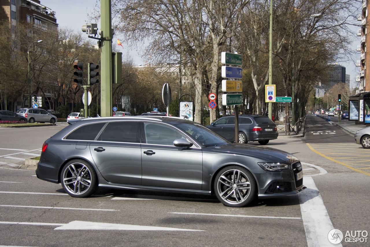 audi rs6 avant c7 28 january 2014 autogespot. Black Bedroom Furniture Sets. Home Design Ideas