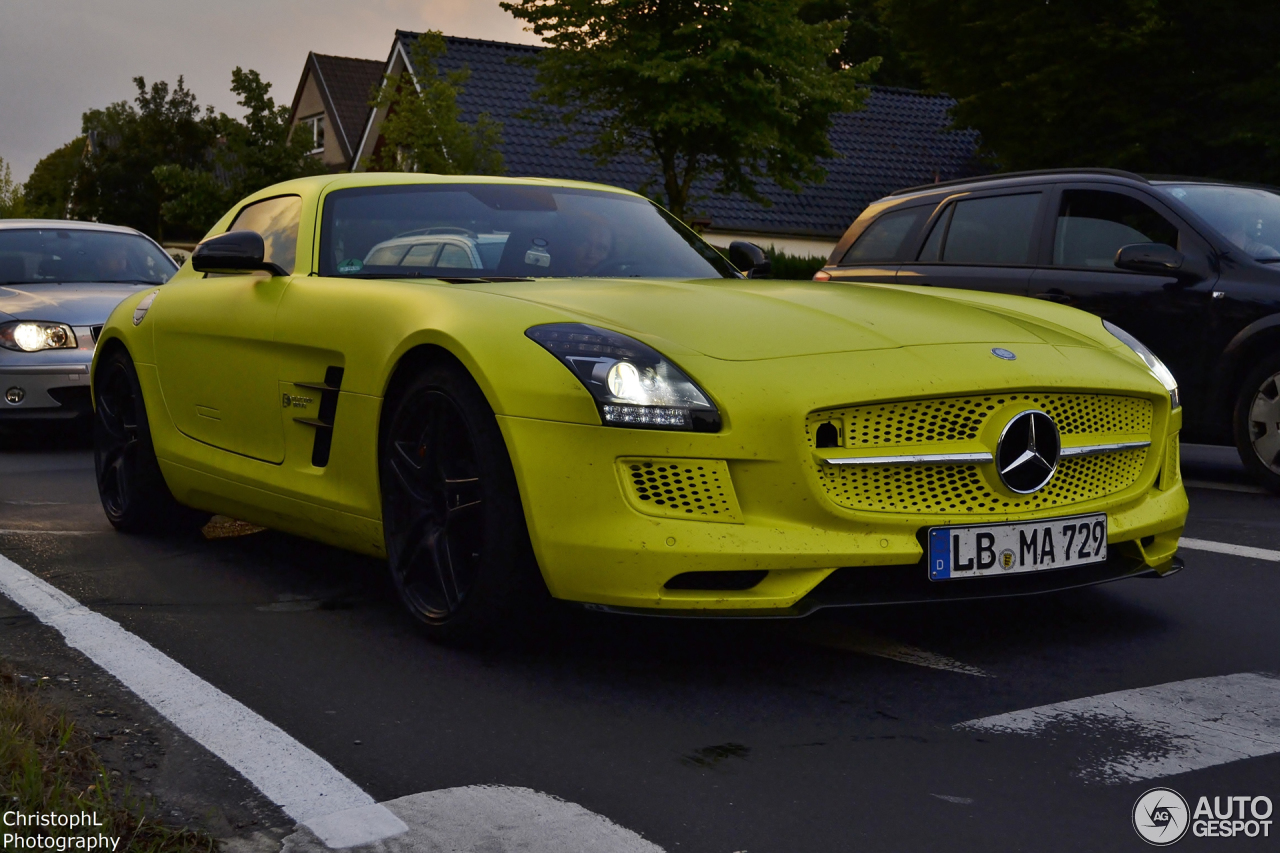 Mercedes benz sls amg electric drive 28 january 2014 for Mercedes benz sls amg electric drive price