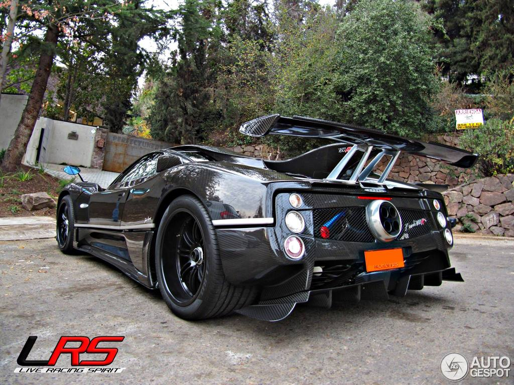 pagani zonda 760rs 29 enero 2014 autogespot. Black Bedroom Furniture Sets. Home Design Ideas