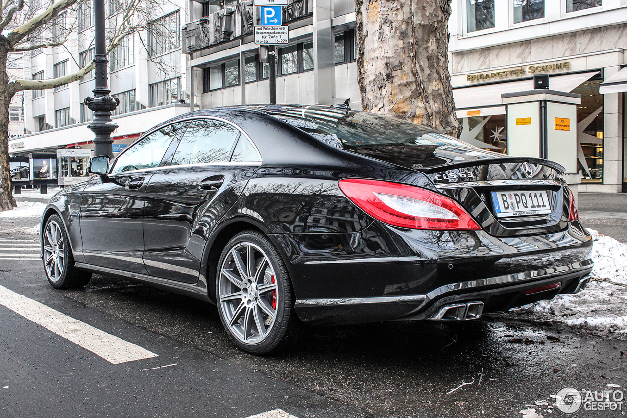 mercedes benz cls 63 amg s c218 31 januar 2014 autogespot. Black Bedroom Furniture Sets. Home Design Ideas