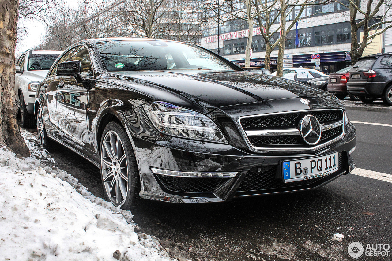 mercedes benz cls 63 amg s c218 31 january 2014 autogespot. Black Bedroom Furniture Sets. Home Design Ideas