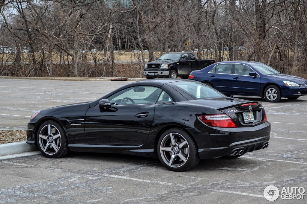 mercedes benz slk 55 amg r172 31 january 2014 autogespot. Black Bedroom Furniture Sets. Home Design Ideas