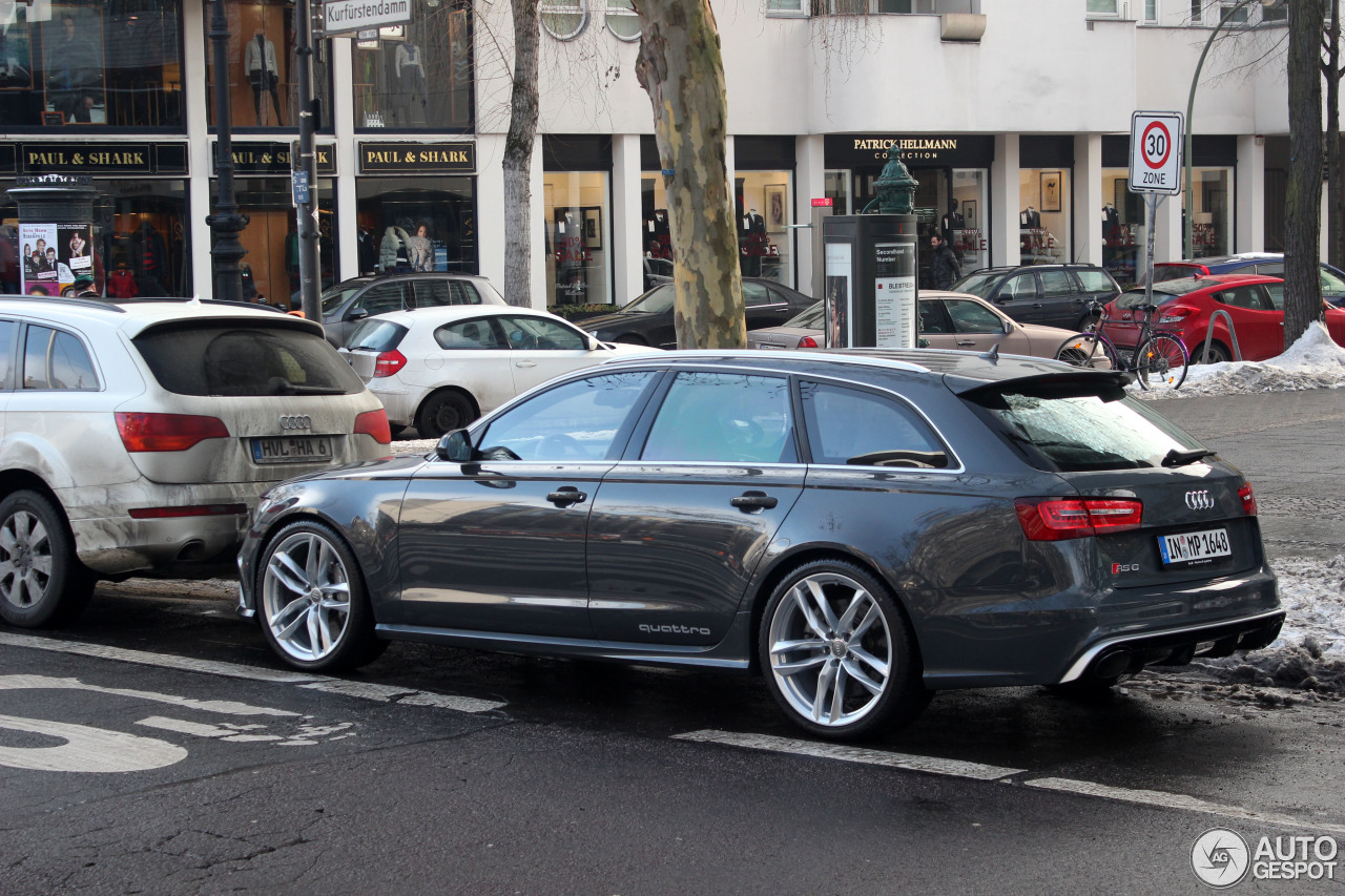 audi rs6 avant c7 1 february 2014 autogespot. Black Bedroom Furniture Sets. Home Design Ideas