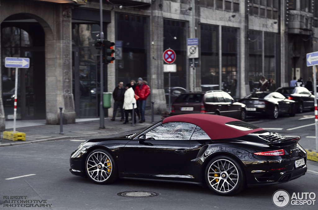 porsche 991 turbo s cabriolet 2 februar 2014 autogespot. Black Bedroom Furniture Sets. Home Design Ideas