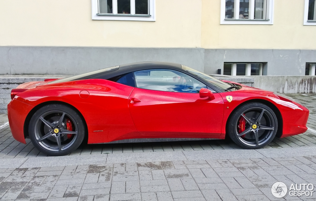 Ferrari 458 Italia 3 Februar 2014 Autogespot