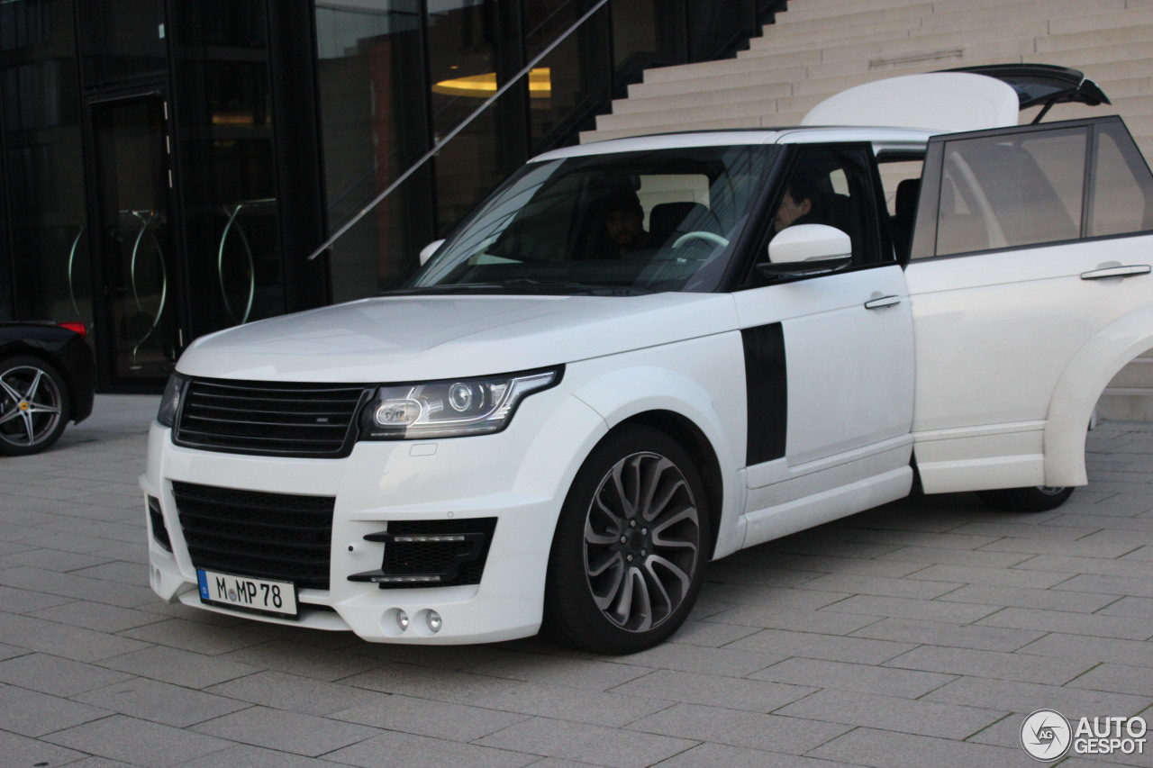 Land Rover Range Rover Lumma Clr R 3 February 2014