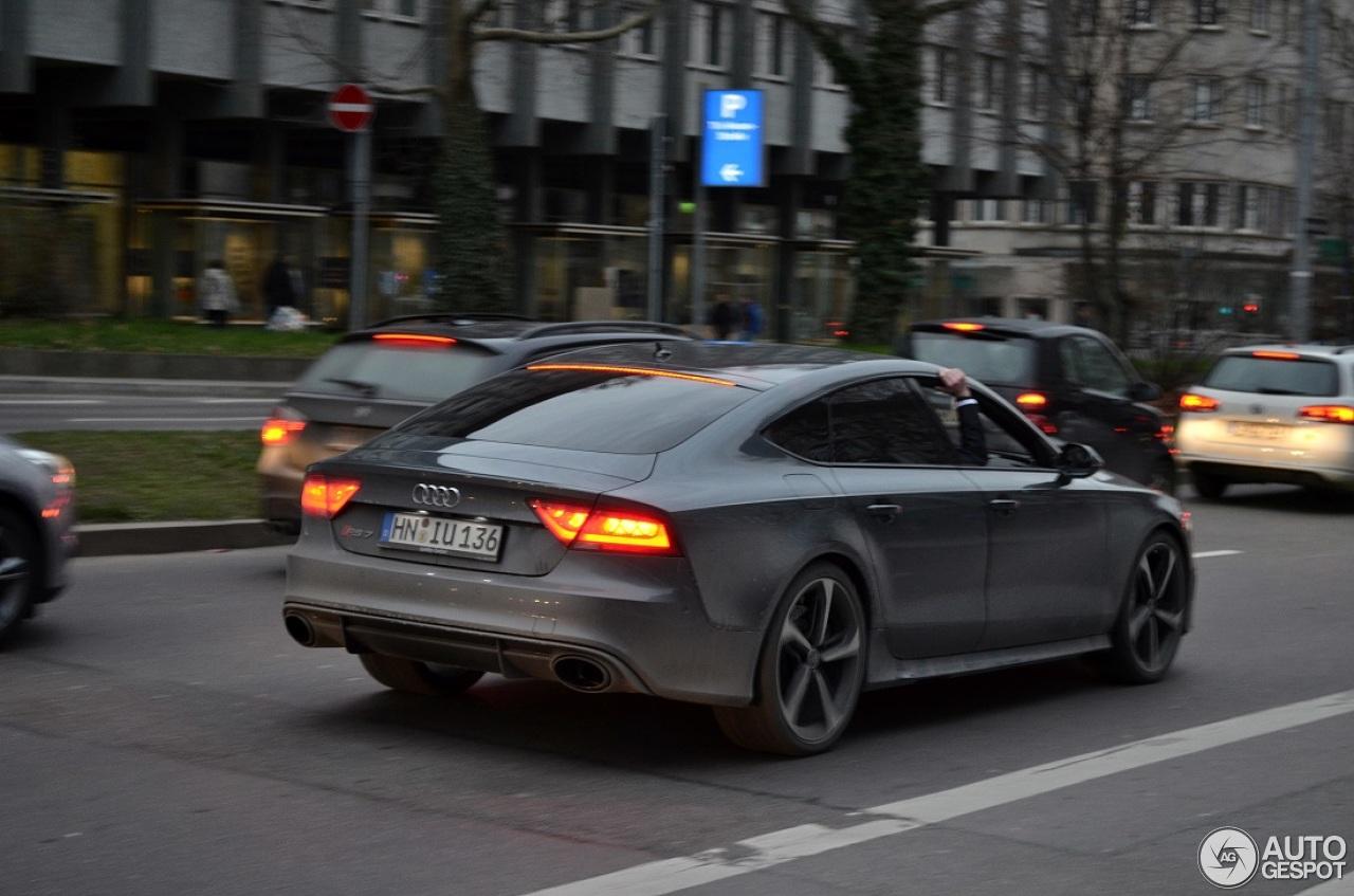 Audi Rs7 Sportback 5 Februar 2014 Autogespot