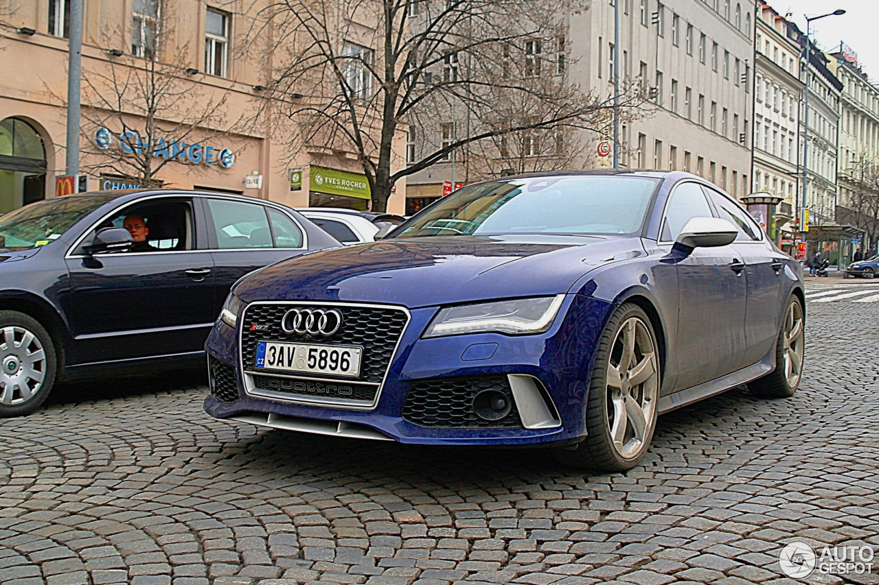 audi rs7 sportback 7 fvrier 2014 autogespot. Black Bedroom Furniture Sets. Home Design Ideas