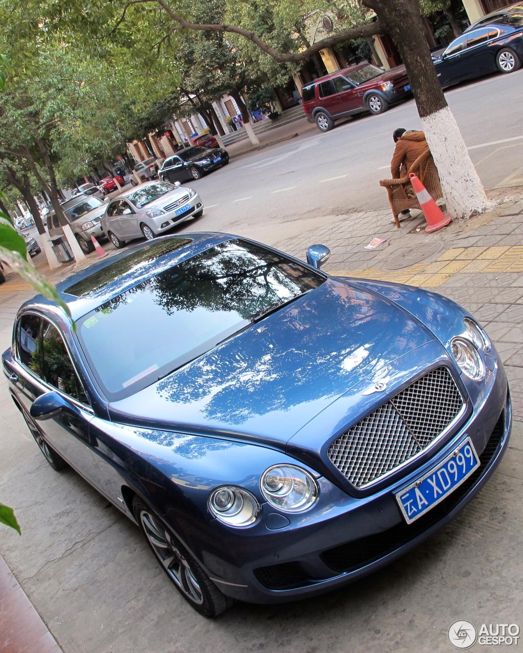 Modellbeschreibung Zum Bentley Continental Flying Spur: Bentley Continental Flying Spur China Design Series