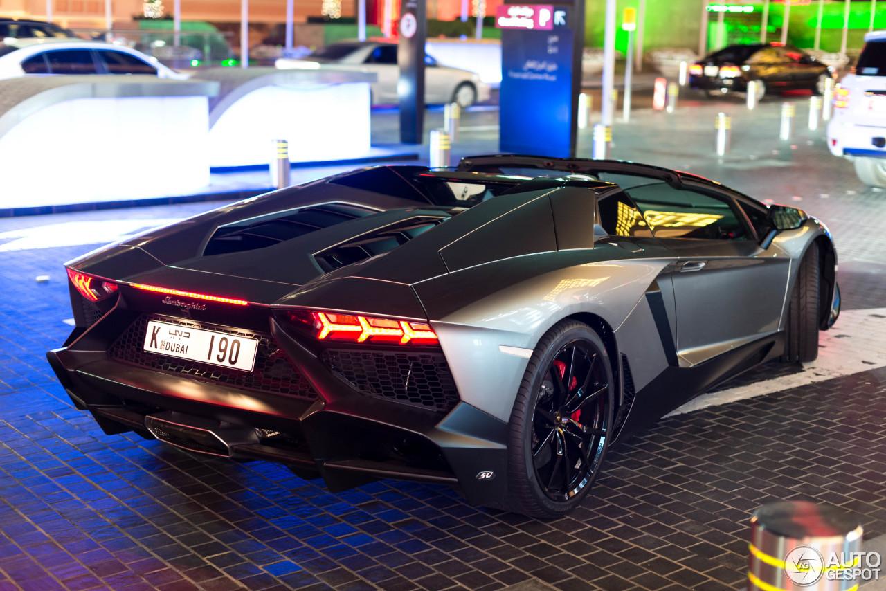 Lamborghini Aventador Lp720 4 Roadster 50 176 Anniversario