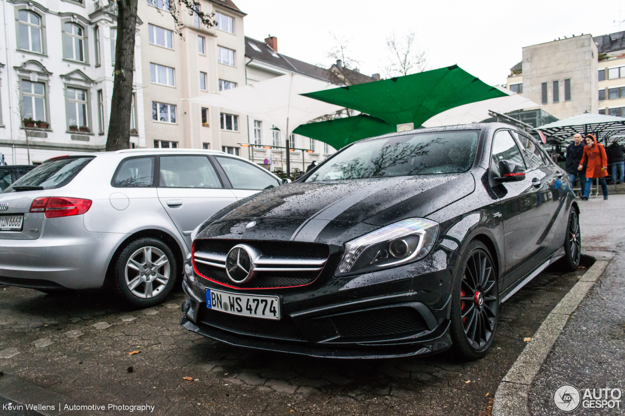 mercedes benz a 45 amg edition 1 8 february 2014. Black Bedroom Furniture Sets. Home Design Ideas